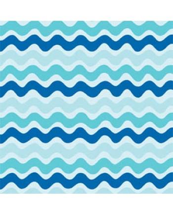 PHOEBE - RIC RAC BLUE STRIPE