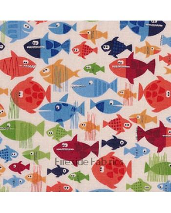 PIRATE - FISH - CREAM (3 Left)