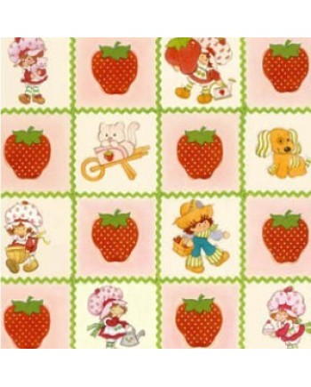 STRAWBERRY SHORTCAKE - SQUARES