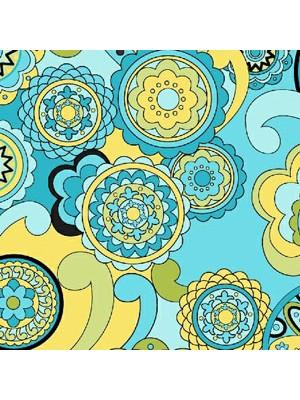 FEELIN GROOVY - CIRCLES - BLUE