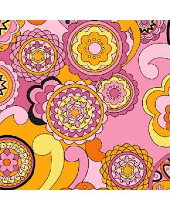 FEELIN GROOVY - CIRCLES - PINK