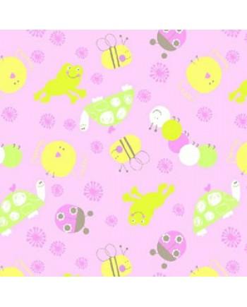 SCRIBBLES - ANIMALS - PINK (2 Left)