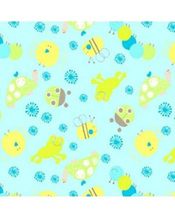 SCRIBBLES - ANIMALS - BLUE