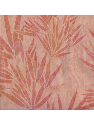 BALI BATIK - PEACH LEAVES