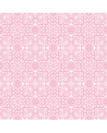 TEACUPS AND ROSES - QUILT - PINK