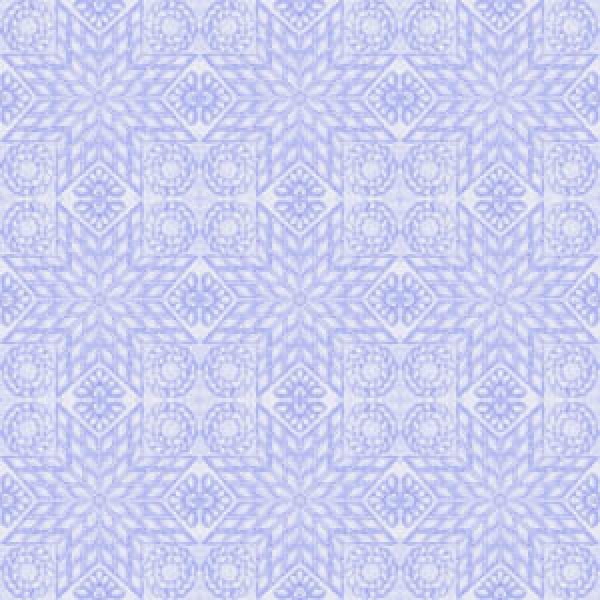 TEACUPS AND ROSES - QUILT - PURPLE