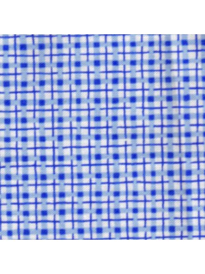 CHECK - BLUE - 3933-B6-BY MAKOWER