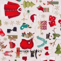 NOVELTY CHRISTMAS CLOTHES - CREAM