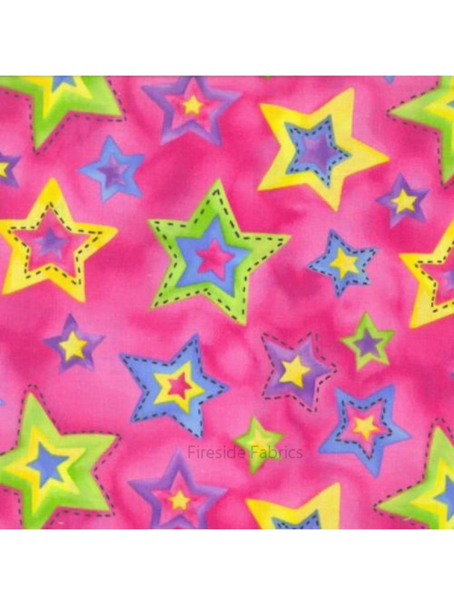 STARS - FUCHSIA