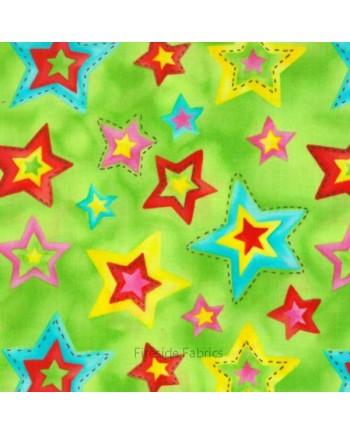 STARS - GREEN