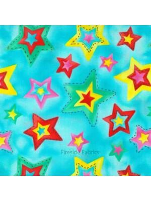 STARS - TURQUOISE