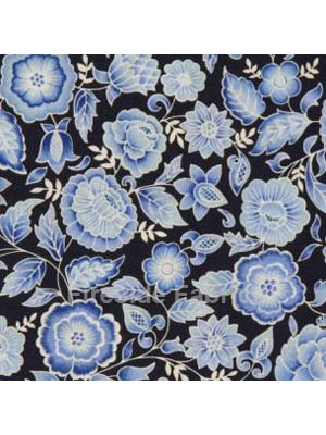 BLUE - FLOWERS - BLUE