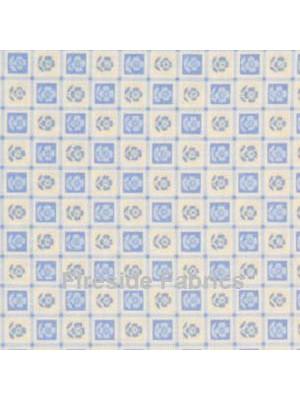 BLUE - SQUARES - LT BLUE