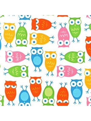 URBAN ZOOLOGIE - OWLS - WHITE