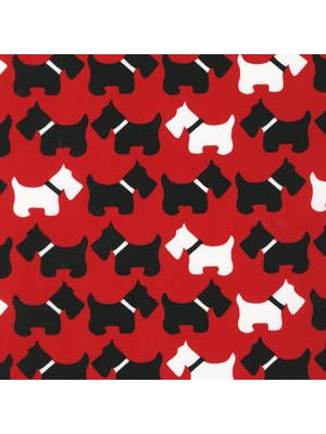 URBAN ZOOLOGIE - SCOTTIES - RED