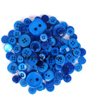 TRIMITS BUTTON PACK - BLUE