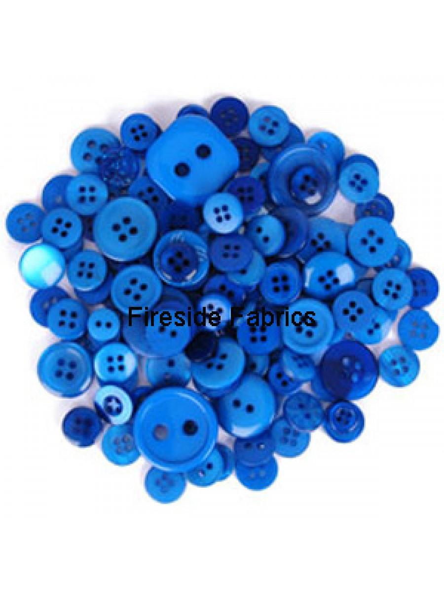 TRIMITS BUTTON PACK - BLUE