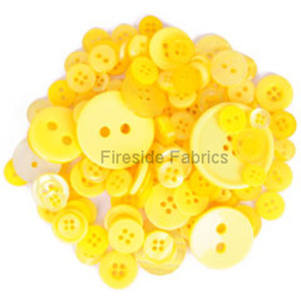 TRIMITS BUTTON PACK - YELLOW