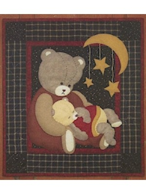 BABY BEAR - WALL QUILT KIT
