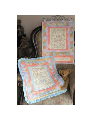BASSINETT QUILT AND WALL HANGING PATTERN