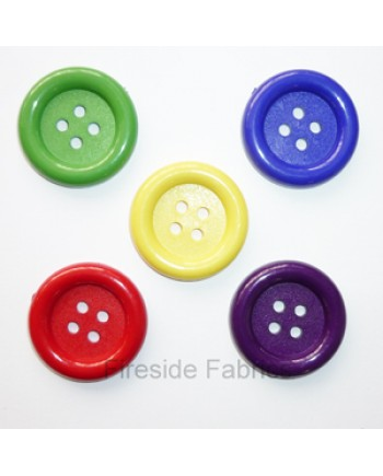 DRESS IT UP - BIG OL BUTTONS - RED