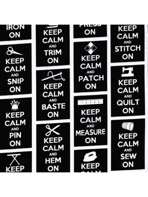 KEEP CALM - BLACK