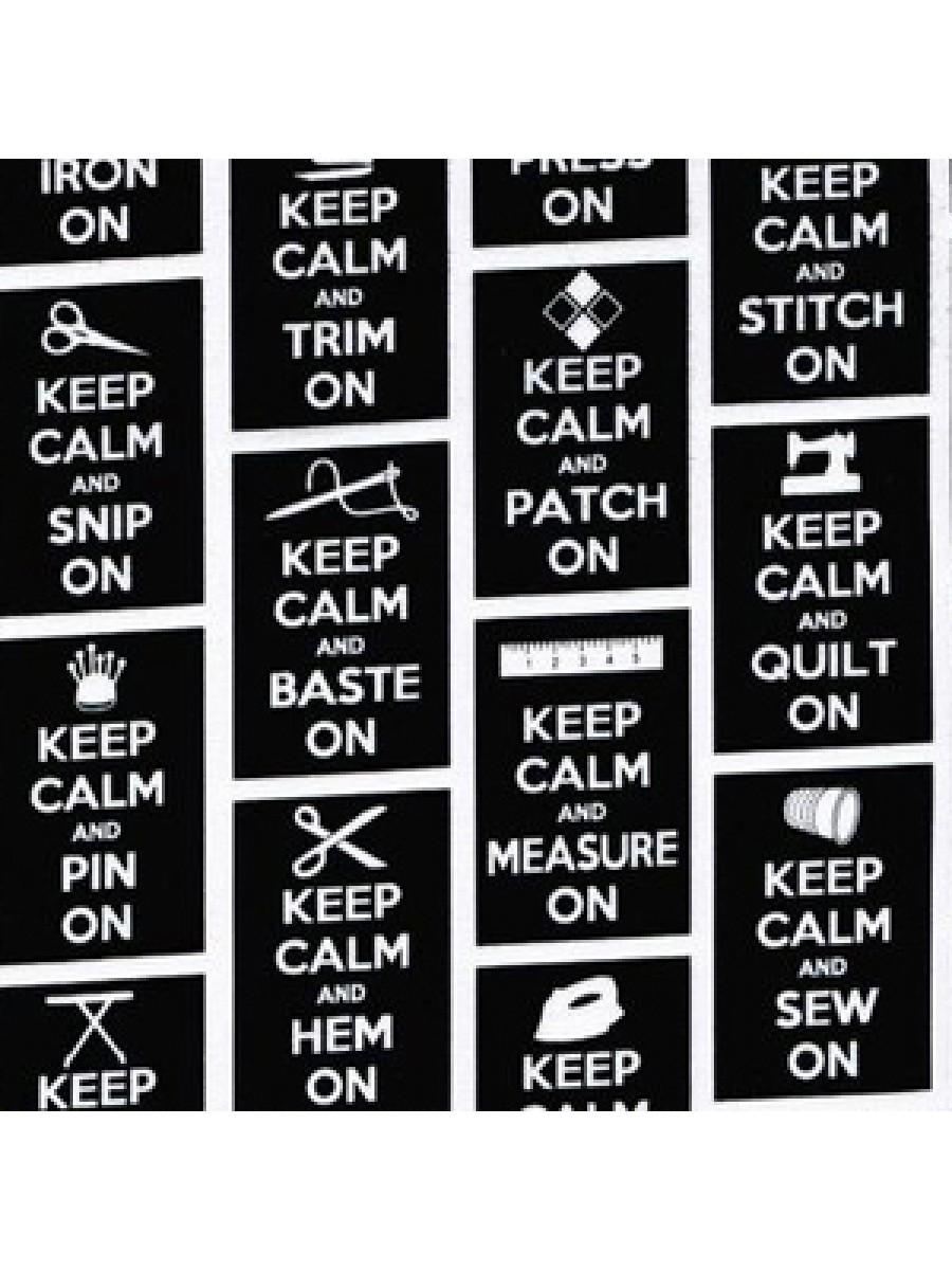 KEEP CALM - BLACK