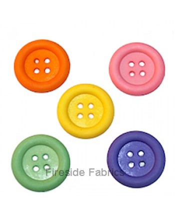 DRESS IT UP - BIG OL BUTTONS - PINK