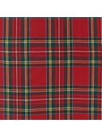 CUD13043-3 - HOUSE OF WALES PLAIDS - RED