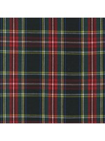 CUD13045-2 - HOUSE OF WALES PLAIDS - BLACK