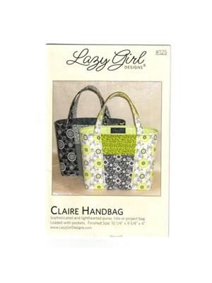 CLAIRE HANDBAG- BY LAZY GIRL DESIGNS