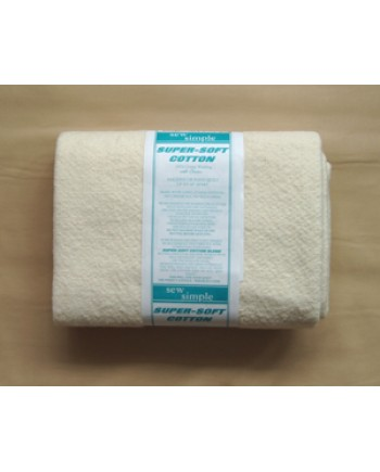 WADDING - SUPER SOFT COTTON - QUEEN SIZE