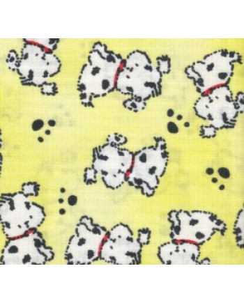 PUPPIES & PAWS - YELLOW