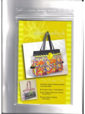 THE POCKET TOTE PATTERN- BY HELEN MEDLOCK
