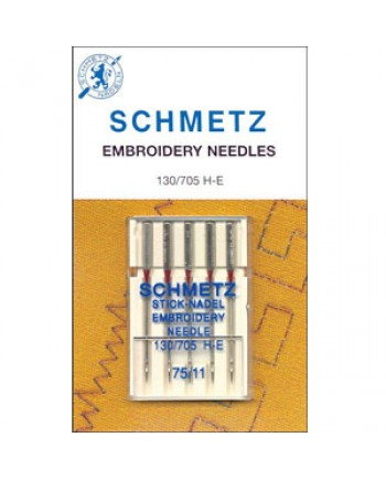 SCHMETZ MACHINE NEEDLES - EMBROIDERY 75-11