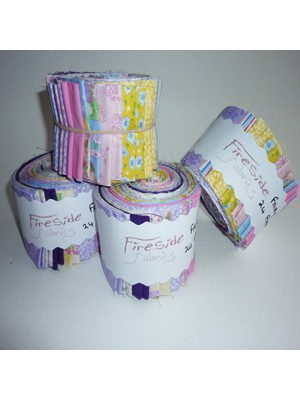 "FABRIC ROLL - FAIRY 2.5"" - 24 STRIPS"