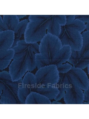 CHANGING SEASONS - LEAF - INDIGO