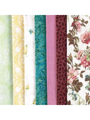 IN BLOOM - 7 FAT QUARTER PACK