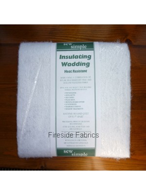 SEW SIMPLE - NEEDLED INSULATED WADDING - 1.5 MTR PACK