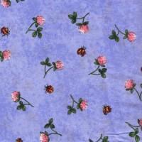 FLOWERS - PERIWINKLE BLUE