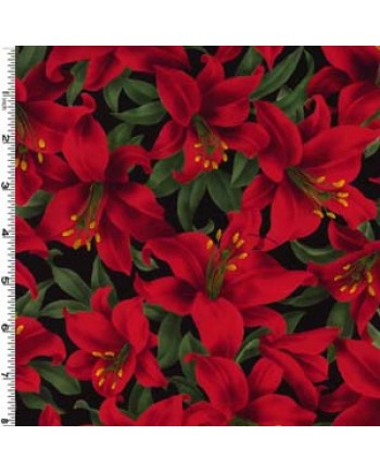 LAVISH FLOWERS - RED