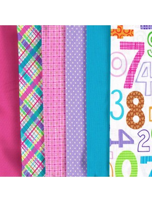 LETS COUNT - 6 FAT QUARTER PACK