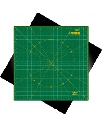 "OLFA ROTATING CUTTING MAT - SELF HEALING 17"" x 17"""