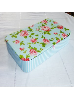 SEWING KIT - BLUE ROSE