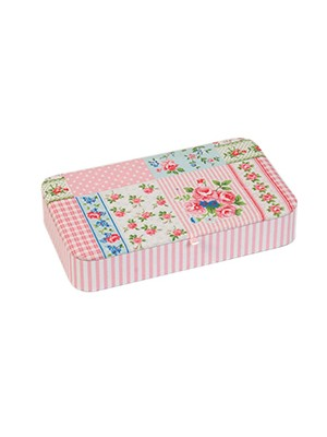 SEWING KIT - PATCHWORK PINK ROSE