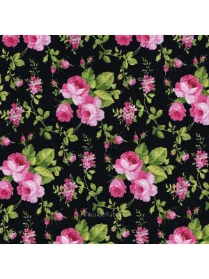 SWEET JANE - ROSES - BLACK