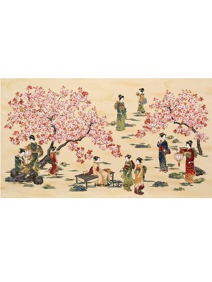 ORIENTAL TRADITIONS PANEL - GEISHA - NATURAL
