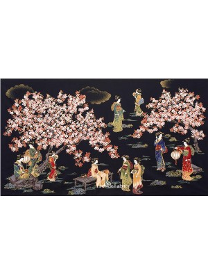 ORIENTAL TRADITIONS PANEL - GEISHA - BLACK