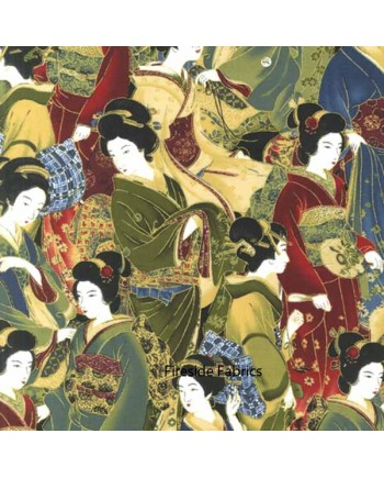 ORIENTAL TRADITIONS - GEISHA CROWD - MULTI