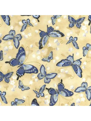 SRKM14209-62 - ORIENTAL TRADITIONS - BUTTERFLY - CREAM